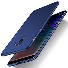 Samsung Galaxy A6 Plus (2018)用ハードケース プラスチック 質感もマット M04 サムスン ネイビー