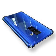 Samsung Galaxy A6 Plus用極薄ソフトケース シリコンケース 耐衝撃 全面保護 クリア透明 T03 サムスン クリア