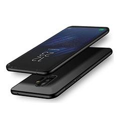 Samsung Galaxy A6 Plus用極薄ソフトケース シリコンケース 耐衝撃 全面保護 S02 サムスン ブラック