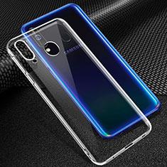 Samsung Galaxy A60用極薄ソフトケース シリコンケース 耐衝撃 全面保護 クリア透明 カバー サムスン クリア