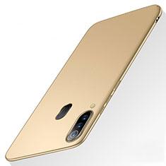 Samsung Galaxy A60用ハードケース プラスチック 質感もマット M01 サムスン ゴールド