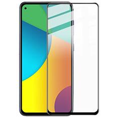 Samsung Galaxy A60用強化ガラス フル液晶保護フィルム F02 サムスン ブラック