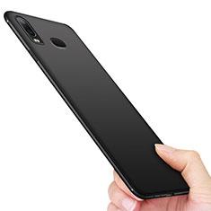 Samsung Galaxy A6s用極薄ソフトケース シリコンケース 耐衝撃 全面保護 サムスン ブラック