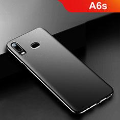 Samsung Galaxy A6s用極薄ソフトケース シリコンケース 耐衝撃 全面保護 S02 サムスン ブラック