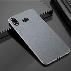 Samsung Galaxy A6s用ハードケース プラスチック カバー サムスン シルバー