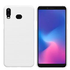 Samsung Galaxy A6s用ハードケース プラスチック 質感もマット M01 サムスン ホワイト