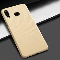 Samsung Galaxy A6s用ハードケース プラスチック 質感もマット M02 サムスン ゴールド