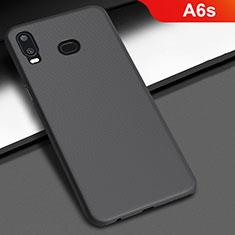 Samsung Galaxy A6s用ハードケース プラスチック 質感もマット M02 サムスン ブラック