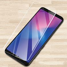 Samsung Galaxy A6s用強化ガラス 液晶保護フィルム T02 サムスン クリア