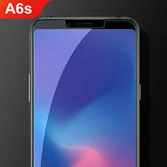 Samsung Galaxy A6s用アンチグレア ブルーライト 強化ガラス 液晶保護フィルム サムスン クリア