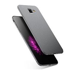 Samsung Galaxy A7 (2016) A7100用極薄ソフトケース シリコンケース 耐衝撃 全面保護 S02 サムスン グレー