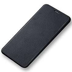 Samsung Galaxy A7 (2016) A7100用手帳型 レザーケース スタンド サムスン ブラック