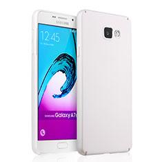 Samsung Galaxy A7 (2016) A7100用ハードケース プラスチック 質感もマット サムスン ホワイト
