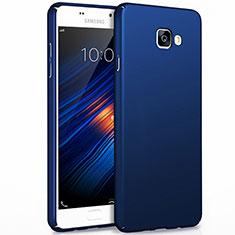 Samsung Galaxy A7 (2017) A720F用ハードケース プラスチック 質感もマット サムスン ネイビー