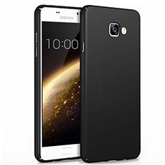 Samsung Galaxy A7 (2017) A720F用ハードケース プラスチック 質感もマット サムスン ブラック