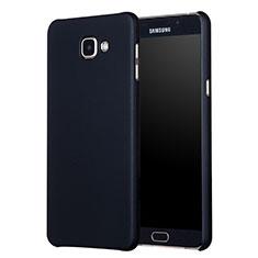 Samsung Galaxy A7 (2017) A720F用ハードケース プラスチック 質感もマット M01 サムスン ブラック