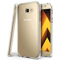 Samsung Galaxy A7 (2017) A720F用極薄ソフトケース シリコンケース 耐衝撃 全面保護 クリア透明 H01 サムスン クリア