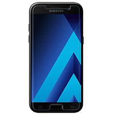 Samsung Galaxy A7 (2017) A720F用強化ガラス 液晶保護フィルム T01 サムスン クリア