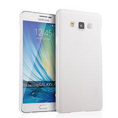 Samsung Galaxy A7 Duos SM-A700F A700FD用ハードケース プラスチック 質感もマット サムスン ホワイト