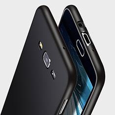 Samsung Galaxy A7 Duos SM-A700F A700FD用シリコンケース ソフトタッチラバー サムスン ブラック