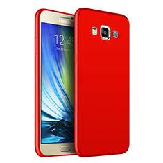 Samsung Galaxy A7 Duos SM-A700F A700FD用極薄ソフトケース シリコンケース 耐衝撃 全面保護 S02 サムスン レッド