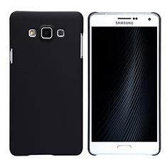 Samsung Galaxy A7 Duos SM-A700F A700FD用ハードケース プラスチック 質感もマット M02 サムスン ブラック