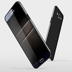 Samsung Galaxy A7 Duos SM-A700F A700FD用ハードケース プラスチック 質感もマット M03 サムスン ブラック