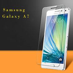 Samsung Galaxy A7 Duos SM-A700F A700FD用強化ガラス 液晶保護フィルム サムスン クリア