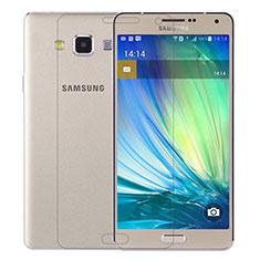 Samsung Galaxy A7 Duos SM-A700F A700FD用強化ガラス 液晶保護フィルム T01 サムスン クリア