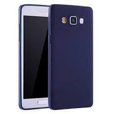 Samsung Galaxy A7 SM-A700用極薄ソフトケース シリコンケース 耐衝撃 全面保護 S01 サムスン ネイビー