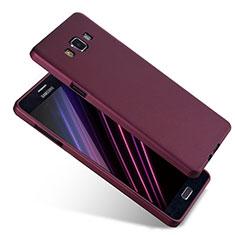 Samsung Galaxy A7 SM-A700用極薄ソフトケース シリコンケース 耐衝撃 全面保護 S04 サムスン パープル