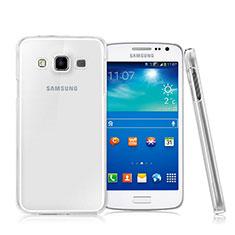 Samsung Galaxy A7 SM-A700用ハードケース クリスタル クリア透明 サムスン クリア