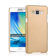Samsung Galaxy A7 SM-A700用ハードケース プラスチック 質感もマット サムスン ゴールド