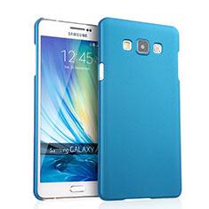 Samsung Galaxy A7 SM-A700用ハードケース プラスチック 質感もマット サムスン ブルー