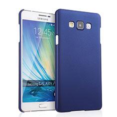 Samsung Galaxy A7 SM-A700用ハードケース プラスチック 質感もマット サムスン ネイビー