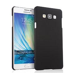 Samsung Galaxy A7 SM-A700用ハードケース プラスチック 質感もマット サムスン ブラック