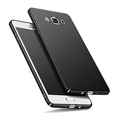 Samsung Galaxy A7 SM-A700用ハードケース プラスチック 質感もマット M01 サムスン ブラック