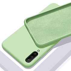 Samsung Galaxy A70用360度 フルカバー極薄ソフトケース シリコンケース 耐衝撃 全面保護 バンパー サムスン グリーン