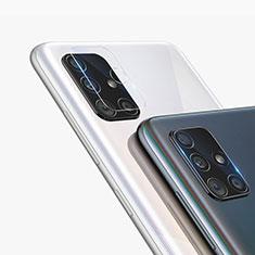 Samsung Galaxy A71 5G用強化ガラス カメラプロテクター カメラレンズ 保護ガラスフイルム サムスン クリア