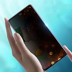 Samsung Galaxy A71 5G用反スパイ 強化ガラス 液晶保護フィルム サムスン クリア