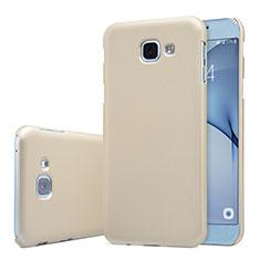Samsung Galaxy A8 (2016) A8100 A810F用ハードケース プラスチック 質感もマット M01 サムスン ゴールド