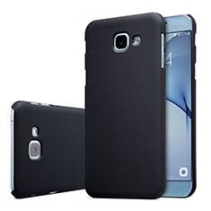 Samsung Galaxy A8 (2016) A8100 A810F用ハードケース プラスチック 質感もマット M01 サムスン ブラック