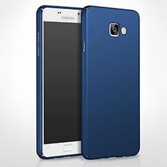 Samsung Galaxy A8 (2016) A8100 A810F用ハードケース プラスチック 質感もマット サムスン ネイビー