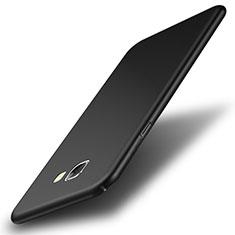 Samsung Galaxy A8 (2016) A8100 A810F用ハードケース プラスチック 質感もマット サムスン ブラック
