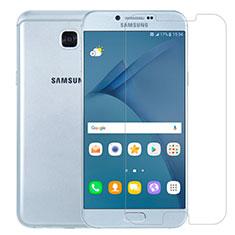 Samsung Galaxy A8 (2016) A8100 A810F用強化ガラス 液晶保護フィルム T01 サムスン クリア