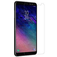 Samsung Galaxy A8+ A8 Plus (2018) Duos A730F用強化ガラス 液晶保護フィルム サムスン クリア