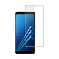 Samsung Galaxy A8+ A8 Plus (2018) Duos A730F用高光沢 液晶保護フィルム サムスン クリア