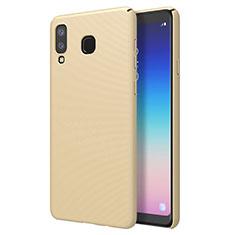 Samsung Galaxy A8 Star用ハードケース プラスチック 質感もマット M01 サムスン ゴールド