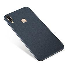 Samsung Galaxy A8 Star用極薄ソフトケース シリコンケース 耐衝撃 全面保護 S01 サムスン ネイビー