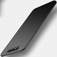 Samsung Galaxy A80用極薄ソフトケース シリコンケース 耐衝撃 全面保護 C01 サムスン ブラック